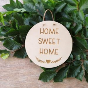 Türschild - Home sweet Home