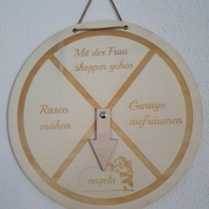 "to do Schild "" angeln"""