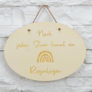 Motiv Schild - Oval