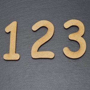 Holzzahlen C.S. Design