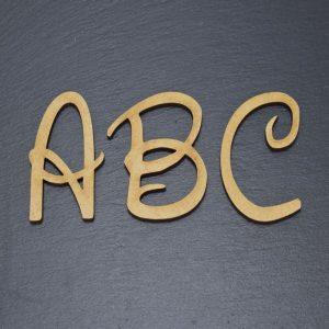 Holzbuchstaben W.D. Design