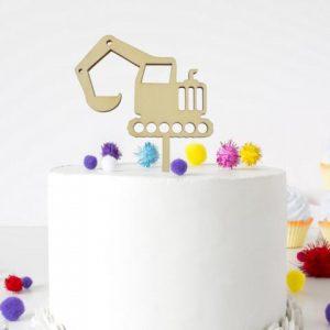 Cake Topper - Bagger