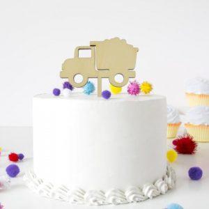 Cake Topper LKW