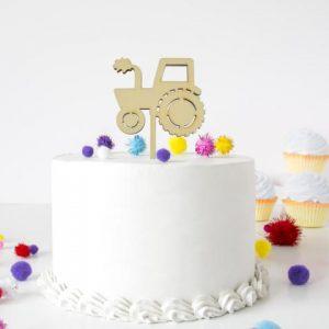 Cake Topper - Traktor