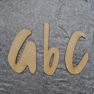 Holzbuchstaben klein B.P. Design