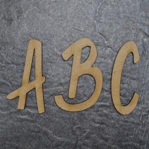 Holzbuchstaben B.P. Design - groß