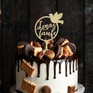 Cake Topper - Taufe