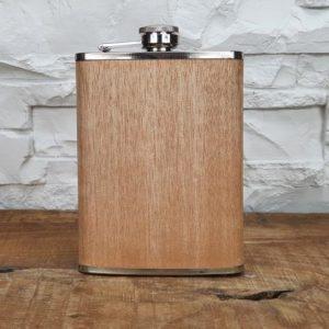 Flachmann – Holzdesign / 227ml