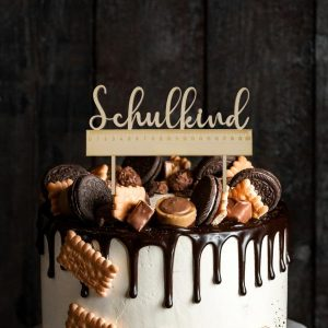 Cake Topper - Schulkind Lineal