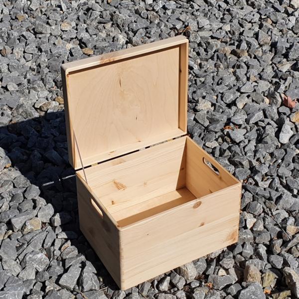 Holzbox mit Deckel Groß