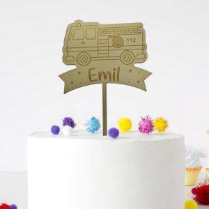 Cake Topper - Feuerwehr