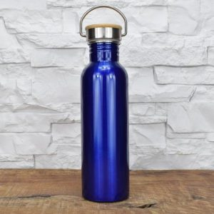 Thermosflasche Groß - Blau