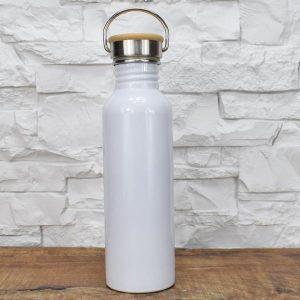 Thermosflasche Groß - Weiß