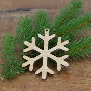 Christbaumkugel aus Holz